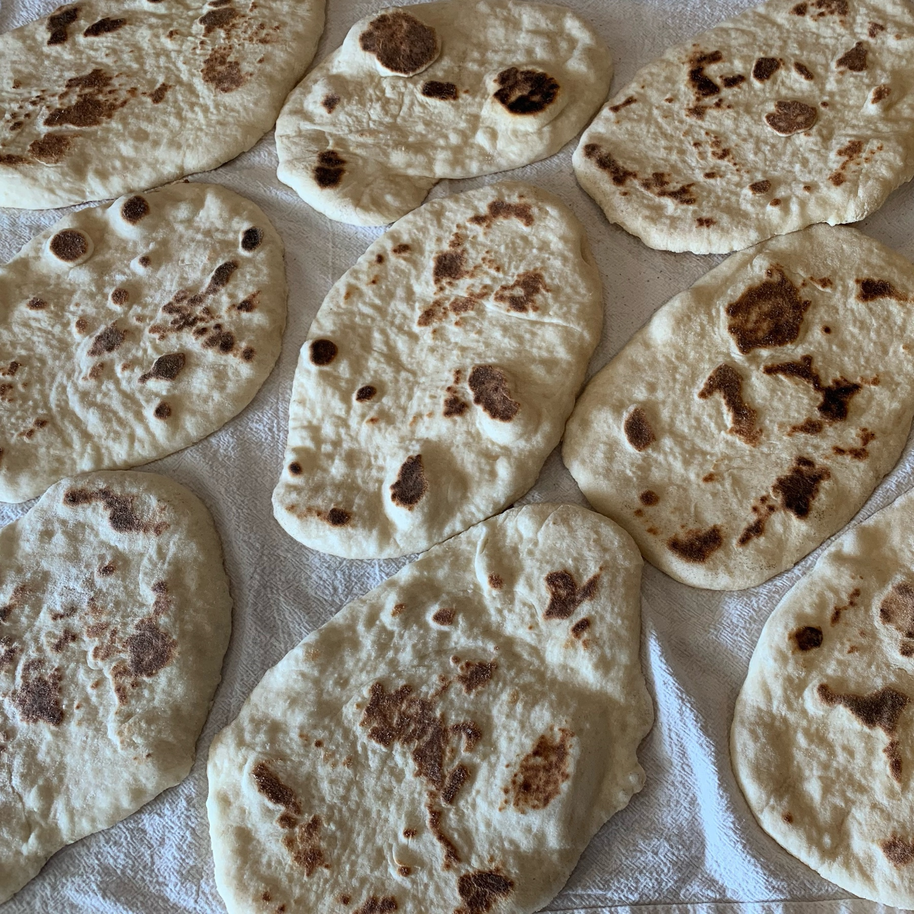 batch of naan