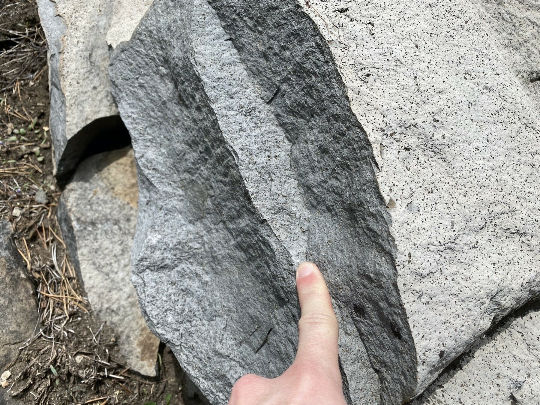 Basalt of Hidden Lakes
