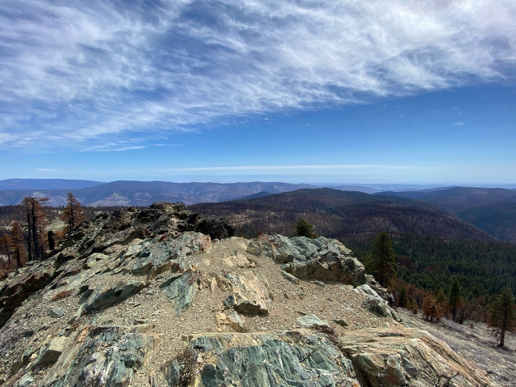 one view from the summit of Black Butte