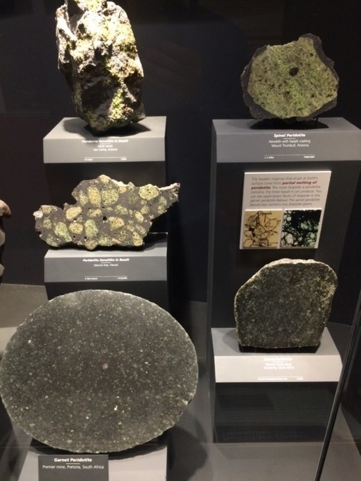 Ultramafic rocks at the Smithsonian